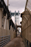 Passerelle de Manhattan Photo stock