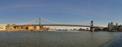 Passerelle de Manhattan Photographie stock libre de droits