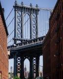 Passerelle de Manhattan image stock