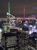 Passerelle de Manhattan et de Brooklyn Image libre de droits