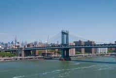 Passerelle de Manhattan, NYC Photographie stock libre de droits