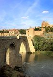 Passerelle de Martin de saint, Toledo, Espagne image stock
