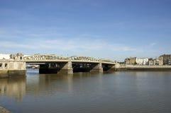 Passerelle de Medway images libres de droits
