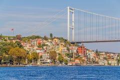 Passerelle de Mehmet de sultan de Fatih Photos libres de droits