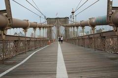 Passerelle de New York Brooklyn Photos stock