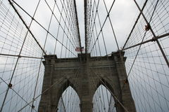 Passerelle de New York Brooklyn images stock