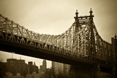 Passerelle de New York City Images stock