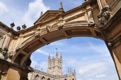 Passerelle de Palladian à Bath Angleterre Photographie stock