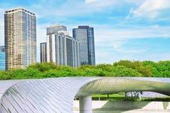 BP jettent un pont sur (Chicago) Images libres de droits