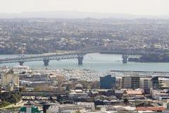 Passerelle de port d'Auckland Images stock