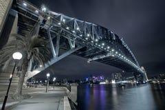 Passerelle de port de Sydney Photos libres de droits
