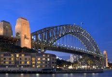 Passerelle de port de Sydney Photo stock