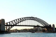 Passerelle de port de Sydney Photo libre de droits