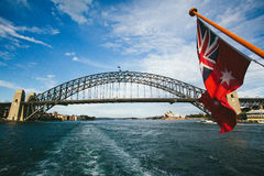 PASSERELLE DE PORT DE SYDNEY Photo stock