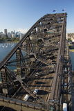 Passerelle de port de Sydney Photo libre de droits