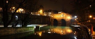 Passerelle de Pulteney à Bath Photographie stock