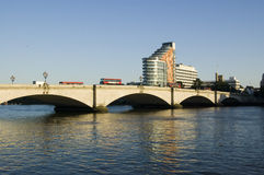 Passerelle de Putney, Londres Photos stock