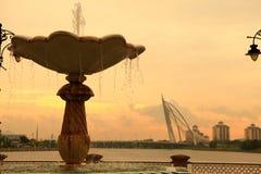 Passerelle de Putrajaya Photo libre de droits
