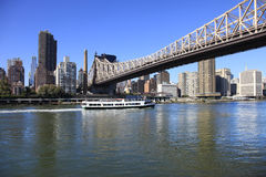 Passerelle de Queensboro Photographie stock libre de droits