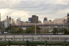 Passerelle de Queensboro, NY Photographie stock