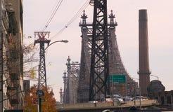 Passerelle de Queensborough à New York Image libre de droits