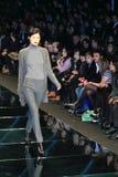 Passerelle de ramassage de l'automne 2011 de Milan Image stock