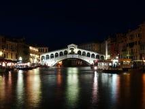 Passerelle de Rialto à Venise, Italie Images stock