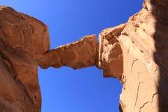 Passerelle de roche de Burdah photos libres de droits