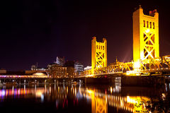Passerelle de Sacramento photographie stock libre de droits