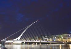Passerelle de Samuel Beckett, Dublin Photos libres de droits