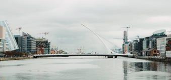 Passerelle de Samuel Beckett, Dublin photo libre de droits