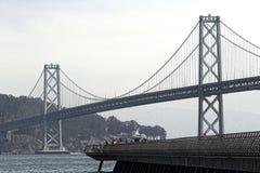 Passerelle de San Francisco Bay Photos libres de droits