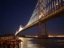Passerelle de San Francisco Bay Images libres de droits