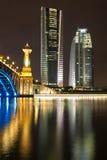 Passerelle de Seri Gemilang, Putrajaya Image libre de droits