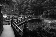 Passerelle de Shinkyo Photographie stock