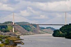 Passerelle de siècle au Panama Photo libre de droits