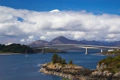 Passerelle de Skye images libres de droits