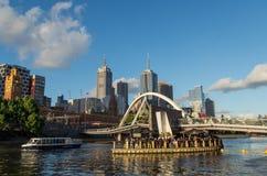 Passerelle de Southgate à Melbourne Images stock