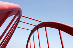Passerelle de suspension Photographie stock
