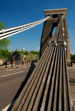 Passerelle de suspension de Clifton, Bristol, Angleterre Photo libre de droits