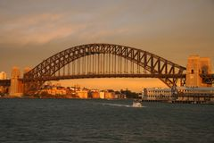 Pont de port de Sydney Images stock