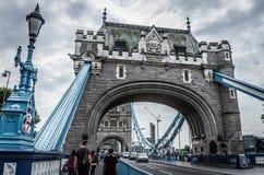 Passerelle de tour à Londres, Angleterre images stock