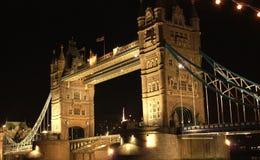 Passerelle de tour - Londres Photographie stock