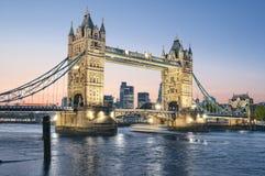 Passerelle de tour, Londres. photos libres de droits