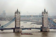 Passerelle de tour, Londres. Images libres de droits