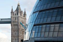 Passerelle de tour, Londres Image stock