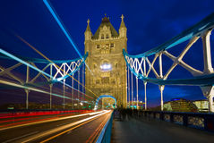 Passerelle de tour - Londres, Angleterre Photo libre de droits