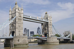 Passerelle de tour, Londres, Angleterre Photos libres de droits