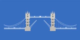 Passerelle de tour, Londres, Angleterre Photographie stock libre de droits
