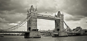 Passerelle de tour, Londres, R-U Photos stock